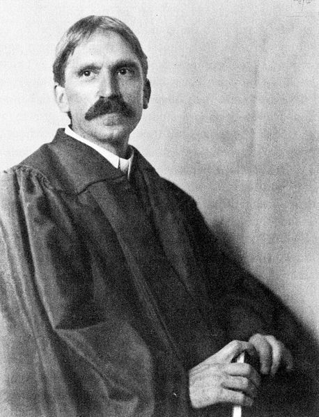 John Dewey at the University of Chicago in 1902