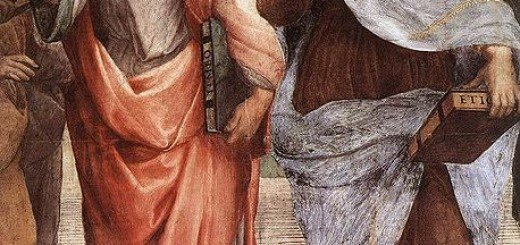 Plato and Aristotle by Raffaello Sanzio