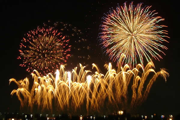 New Year Day Fireworks